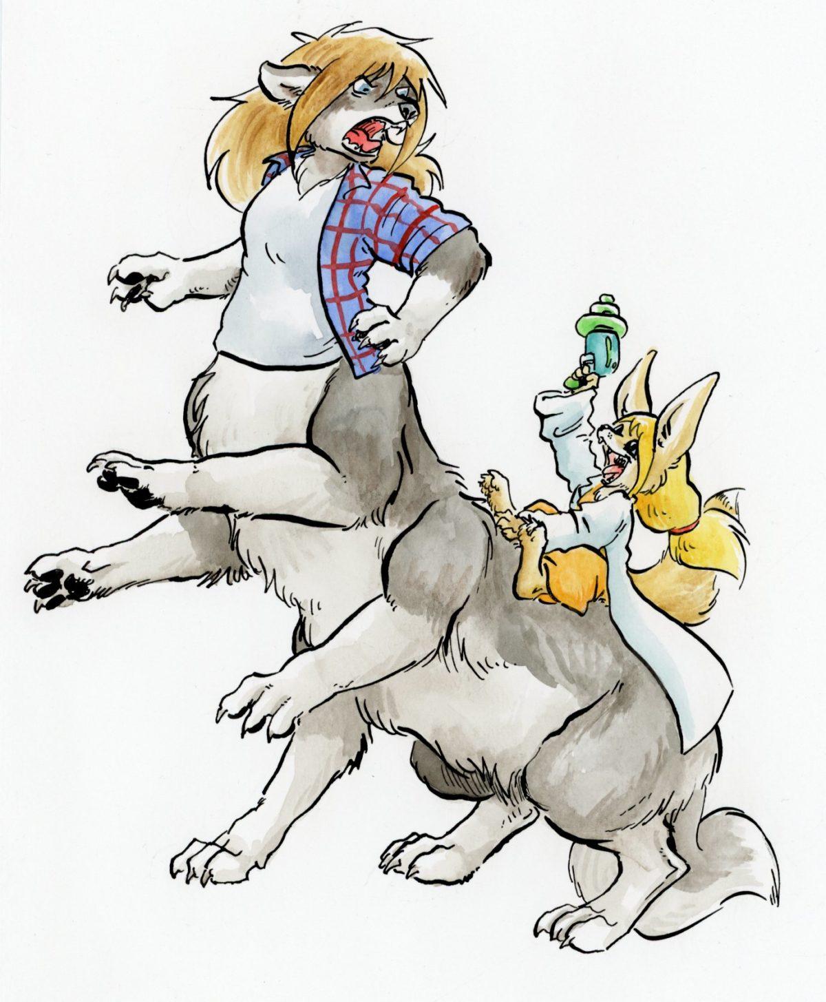 Onward, Wolftaurtaur!